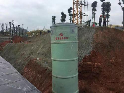 荆州一体化污水提升泵站安装